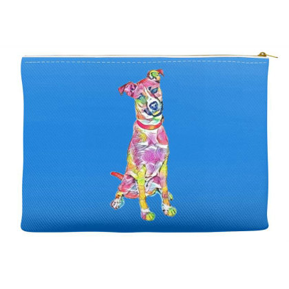 Friendly And Happy Tan And Wh Accessory Pouches Designed By Kemnabi