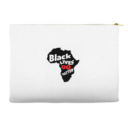 Black Lives Do Matter Accessory Pouches Designed By Qudkin
