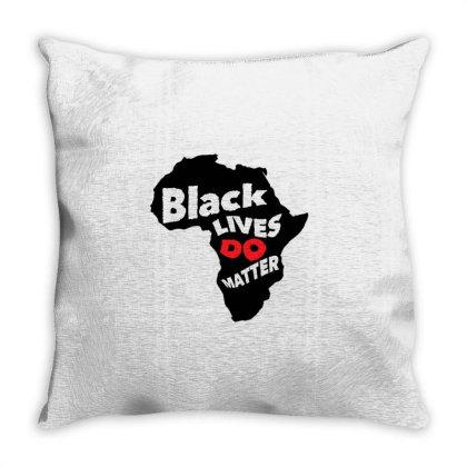 Black Lives Do Matter Throw Pillow Designed By Qudkin