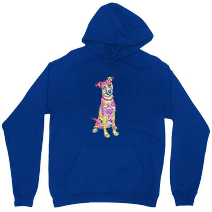Friendly And Happy Tan And Wh Unisex Hoodie Designed By Kemnabi