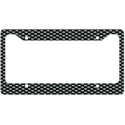 Born In Usa License Plate Frame Designed By Sb T-shirts