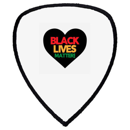 Black Lives Matter Heart Shield S Patch Designed By Qudkin