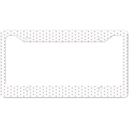 Dirt And Glitter License Plate Frame Designed By Servicesbyah