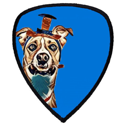 Closeup Of Large Breed Dog We Shield S Patch Designed By Kemnabi