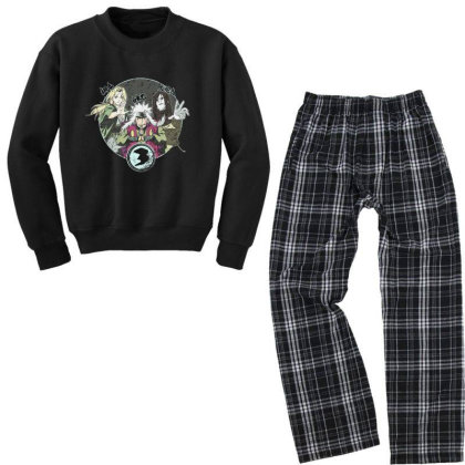 Anime Youth Sweatshirt Pajama Set Designed By Disgus_thing