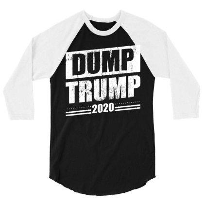 Dump Trump 2020 Funny Anti Trump T Shirt T Shirt Funny Cotton Tee Gift 3/4 Sleeve Shirt Designed By G3ry