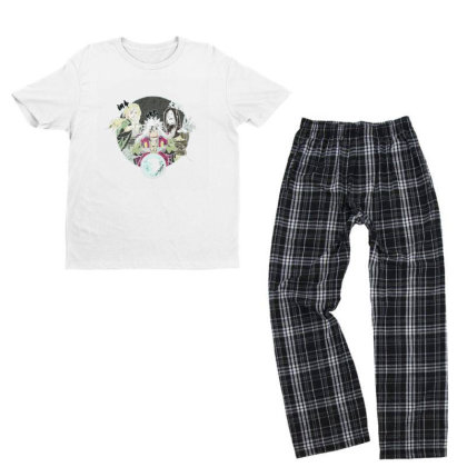 Anime Youth T-shirt Pajama Set Designed By Disgus_thing
