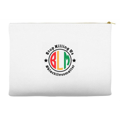Black Lives Matter Stop Killing Us Accessory Pouches Designed By Qudkin