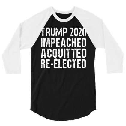 Elect President Trump T Shirt Funny Cotton Tee Vintage Gift For Men Wo 3/4 Sleeve Shirt Designed By G3ry