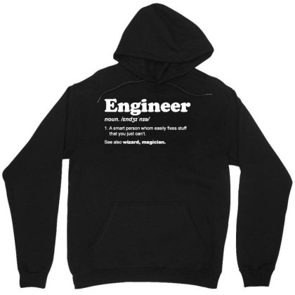 Engineer Dictionary T Shirt Funny Chemical Gas Electrical Son Dad Chri Unisex Hoodie Designed By G3ry