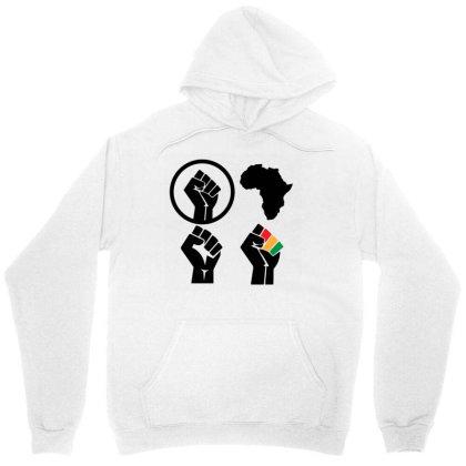 Black Power Unisex Hoodie Designed By Qudkin