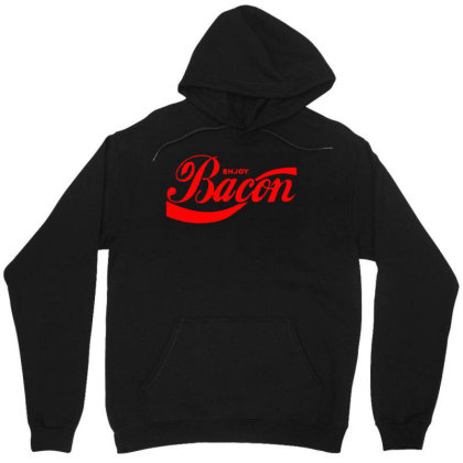 Enjoy Bacon Mens T Shirt Cool Funny Design Gift Present Idea Dad New T Unisex Hoodie Designed By G3ry
