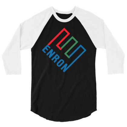 Enron T Shirt Funny Birthday Cotton Tee Vintage Gift For Men 3/4 Sleeve Shirt Designed By G3ry