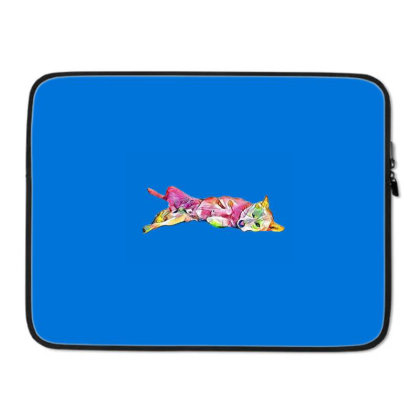 Shy And Submissive Large Mixe Laptop Sleeve Designed By Kemnabi