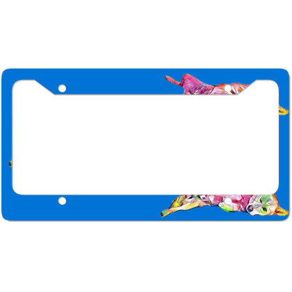 Shy And Submissive Large Mixe License Plate Frame Designed By Kemnabi