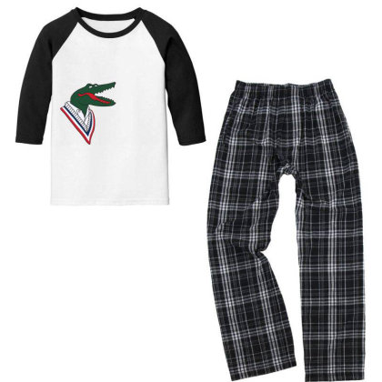 Crocodile Youth 3/4 Sleeve Pajama Set Designed By Disgus_thing