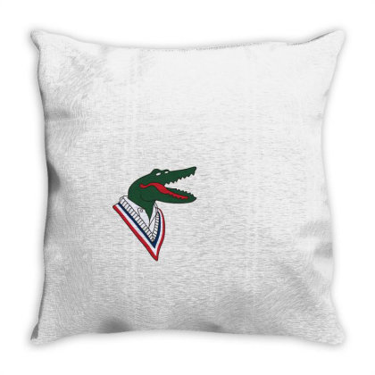 Crocodile Throw Pillow Designed By Disgus_thing