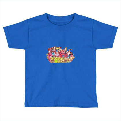 Fur Cute Mixed Breed Puppies Toddler T-shirt Designed By Kemnabi