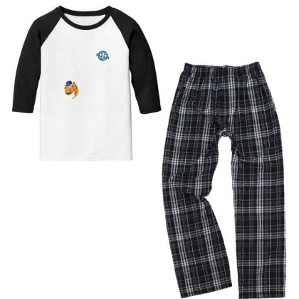 Boston Youth 3/4 Sleeve Pajama Set Designed By Disgus_thing