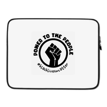 Power To The People Laptop Sleeve Designed By Qudkin