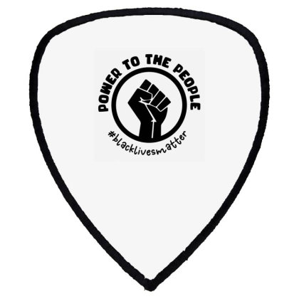 Power To The People Shield S Patch Designed By Qudkin