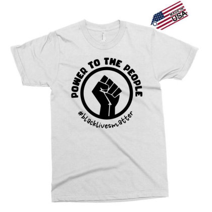 Power To The People Exclusive T-shirt Designed By Qudkin