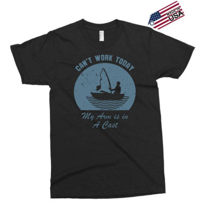Fishing Can't Work Today My Arm Is In A Cast Funny Tee Men's T Shirt Exclusive T-shirt Designed By G3ry