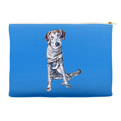 Lonely Large Crossbreed Dog W Accessory Pouches Designed By Kemnabi