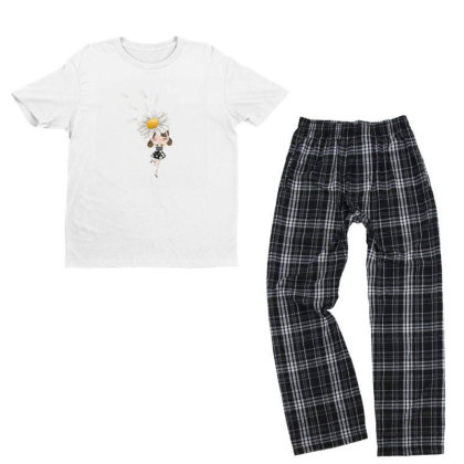 Flower Youth T-shirt Pajama Set Designed By Disgus_thing