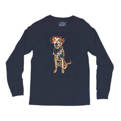 Happy Crossbreed Dog Wearing Long Sleeve Shirts Designed By Kemnabi
