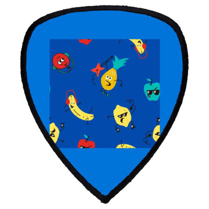 Fruits Shield S Patch Designed By Disgus_thing