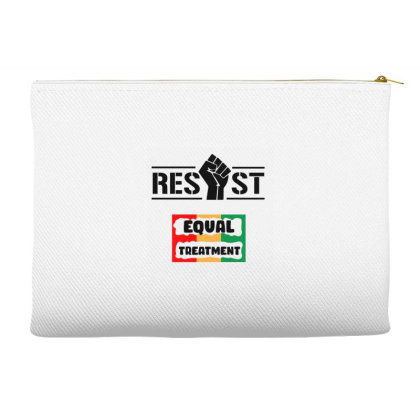 Resist Equal Treatment Accessory Pouches Designed By Qudkin