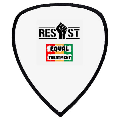 Resist Equal Treatment Shield S Patch Designed By Qudkin