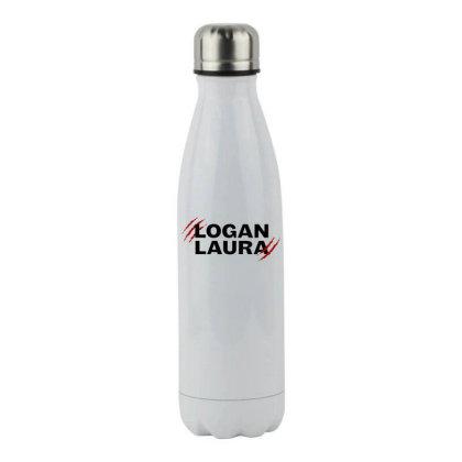 Team Logan Laura Stainless Steel Water Bottle Designed By Feniavey