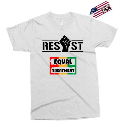 Resist Equal Treatment Exclusive T-shirt Designed By Qudkin