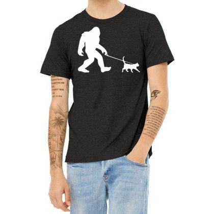 Funny Cute Sasquatch Gift T Shirt Vintage Gift For Men Women Funny Tee Heather T-shirt Designed By G3ry