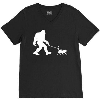 Funny Cute Sasquatch Gift T Shirt Vintage Gift For Men Women Funny Tee V-neck Tee Designed By G3ry