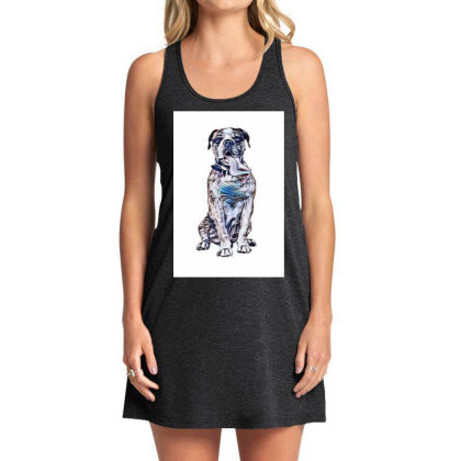 Funny Photo Of Thirsty Dog Wi Tank Dress Designed By Kemnabi