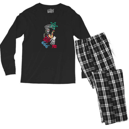 Anime Men's Long Sleeve Pajama Set Designed By Disgus_thing