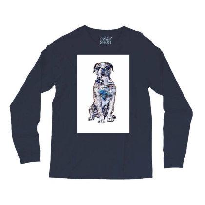 Funny Photo Of Thirsty Dog Wi Long Sleeve Shirts Designed By Kemnabi