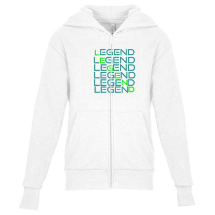 Sports Youth Zipper Hoodie Designed By Taxil