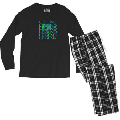 Sports Men's Long Sleeve Pajama Set Designed By Taxil
