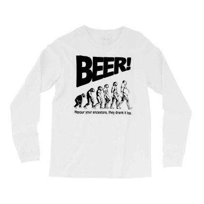 Funny Mens T Shirts = Novelty Joke Printed Clothing = Beer Long Sleeve Shirts Designed By G3ry