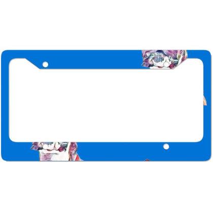 Large Playful Boxer Crossbree License Plate Frame Designed By Kemnabi