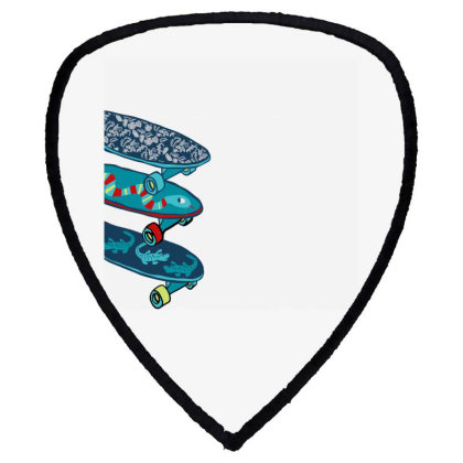 Skate Shield S Patch Designed By Disgus_thing