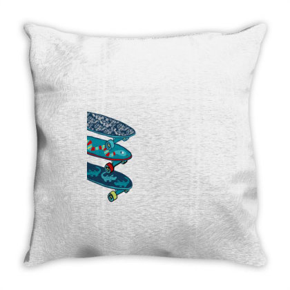 Skate Throw Pillow Designed By Disgus_thing