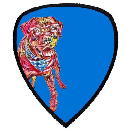 Funny Big Rottweiler Dog Wear Shield S Patch Designed By Kemnabi