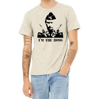 Funny Parody Vladimir Putin T Shirt Men Streetwear Top Tee Humor Russi Heather T-shirt Designed By G3ry