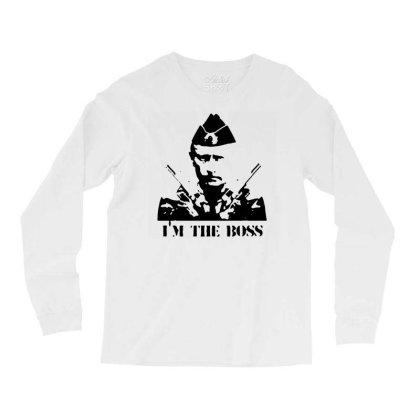 Funny Parody Vladimir Putin T Shirt Men Streetwear Top Tee Humor Russi Long Sleeve Shirts Designed By G3ry