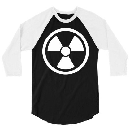 Funny Novelty T Shirt Mens Tee Tshirt   Radioactive Glow In The Dark 3/4 Sleeve Shirt Designed By G3ry